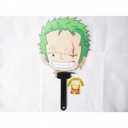 Abanico Anime One Piece Zoro Roronoa (Entrega Inmediata)