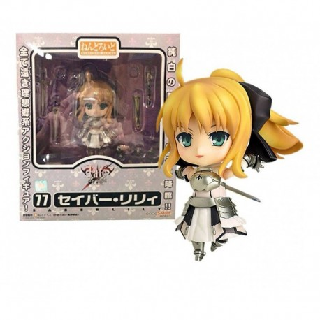 Figura Nendoroid Saber Lily 77 + Obsequio (Entrega Inmediata)