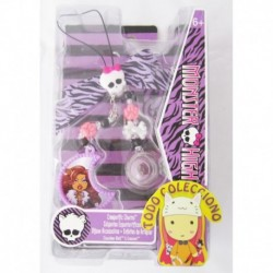 Strap O Adorno Monster High Creeperific Charact Craneo, Emo (Entrega Inmediata)