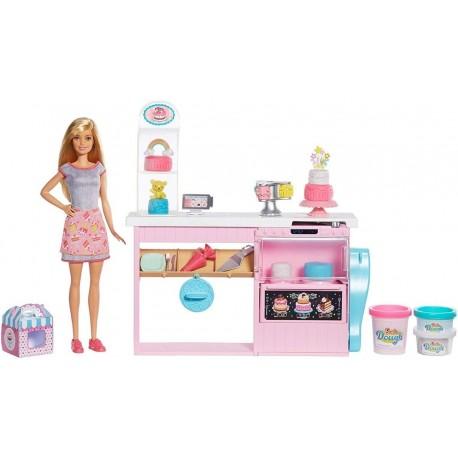 Barbie Y Su Pastelería Decora Tus Pasteles Mattel Gfp59 (Entrega Inmediata)