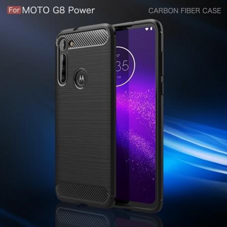Estuche Fibra De Carbono Motorola Moto G8 Power (Entrega Inmediata)