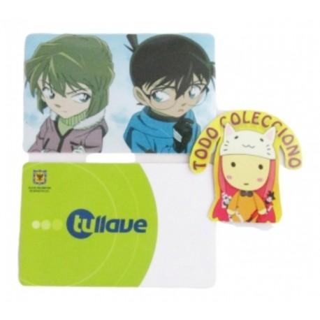 Tarjeta Trasporte Sticker Anime Detective Conan No.3 (Entrega Inmediata)
