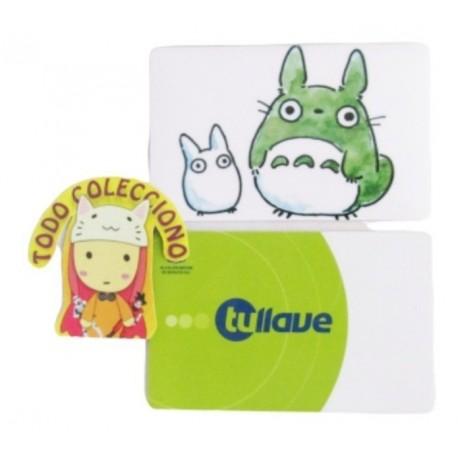 Tarjeta Trasporte Sticker Anime Totoro No.2 (Entrega Inmediata)