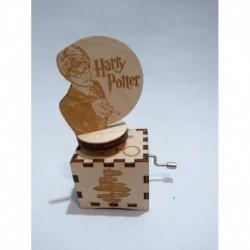 Harry Potter Caja Musical Diorama Giratorio (Entrega Inmediata)