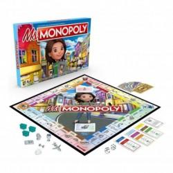 Miss Monopoly Hasbro Gaming E8424 Juego De Mesa (Entrega Inmediata)