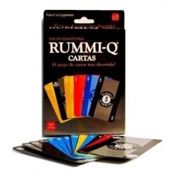 Rummy Q Cartas Ref: 02245-2 Juego De Mesa (Entrega Inmediata)