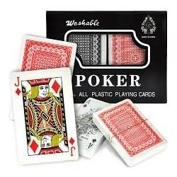 Juego De Poker Casino Asar Apostar 100% Plastic Cartas 90469 (Entrega Inmediata)
