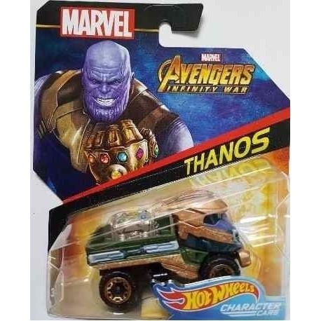 Carro Superheroe Thanos Marvel Hot Wheels Ref Bdm71 (Entrega Inmediata)
