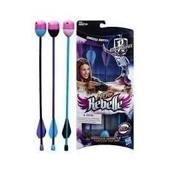 Flechas De Repuestos Nerf A8860 Arco Niñas Original Hasbro (Entrega Inmediata)