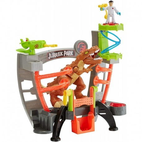 Fisher-price Jurassic World Laboratorio Rex Mattel Fxp79 (Entrega Inmediata)