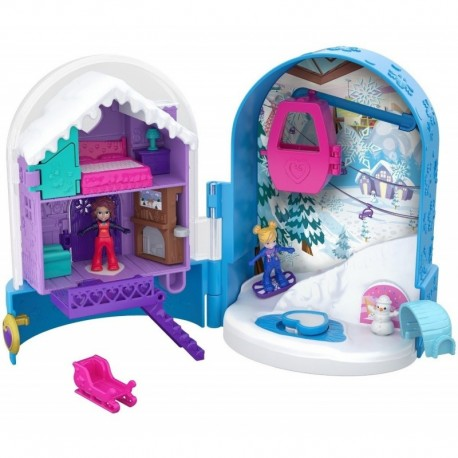 Mattel Polly Pocket World, Snow Globe - Globo De Nieve (Entrega Inmediata)
