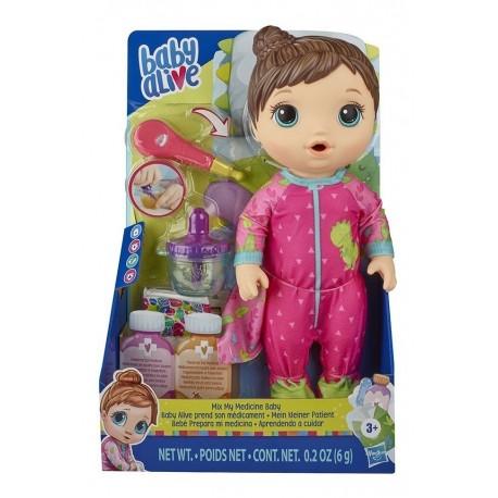 Baby Alive Doctora Bebe Pijama Estampababy Alive Dodo Gatuno (Entrega Inmediata)