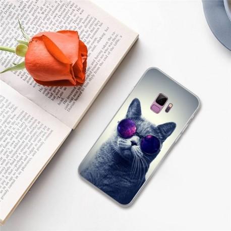 Funda Estuche Personalizado Gato Cool Xiaomi Motorola Asus (Entrega Inmediata)