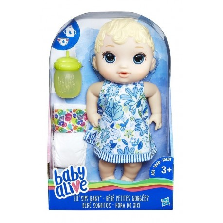 Baby Alive Bebe Sorbitos Rubia (Entrega Inmediata)