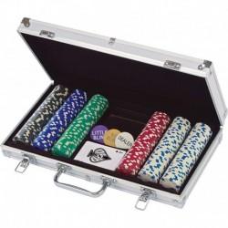 300 Fichas Para Poker En Caja De Alumninio (Entrega Inmediata)