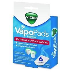 Vicks Sounds Vapors - Almohadillas De Repuesto (Entrega Inmediata)