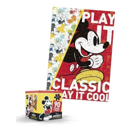 Rompecabezas Mickey Mouse 250 Piezas Caja Lujo Disney (Entrega Inmediata)