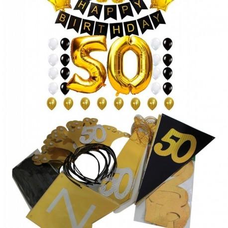 Decoración Fiesta 50 Años (Entrega Inmediata)