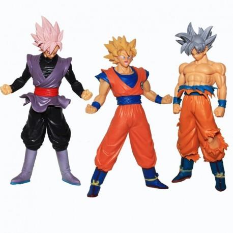 Figuras De Colección Dragon Ball Z 17 Cm X 3 (Entrega Inmediata)
