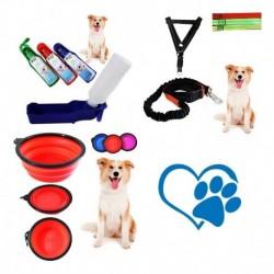 Articulos Portátiles Para Mascotas Collar,bebedero,comedero (Entrega Inmediata)