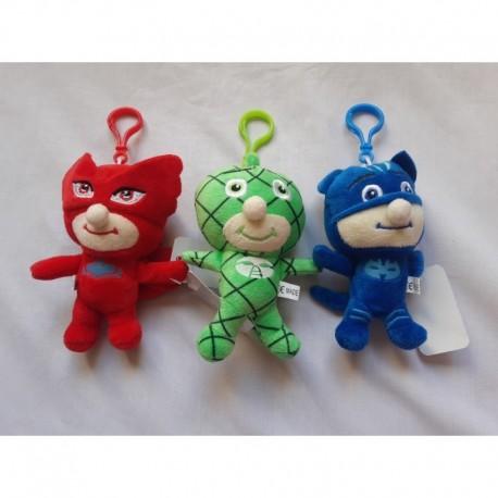 Héroes En Pijama- Llaveros (gecko, Buhita, Gatuno) 12 X 10cm (Entrega Inmediata)