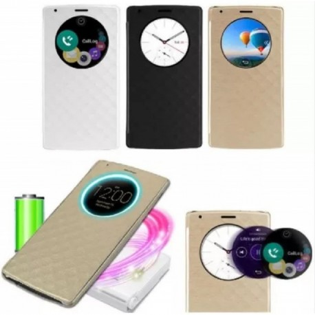 Estuche Flip Cover LG G4 Quick Circle / Circulo De Reloj (Entrega Inmediata)