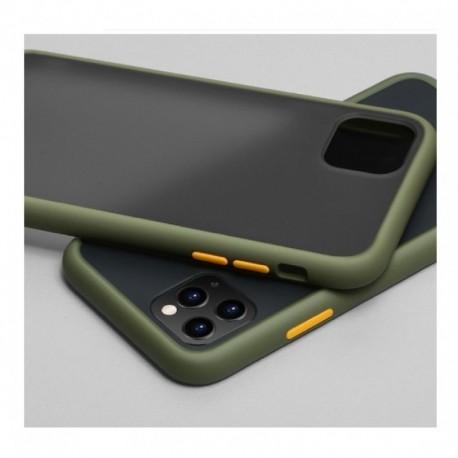 Protector Case Lujo Funda Traslucida Mate iPhone 11 Pro Max (Entrega Inmediata)