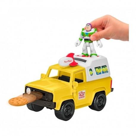 Imaginext Toy Story Buzz Lightyear & Pizza Planet Truck Gfr9 (Entrega Inmediata)