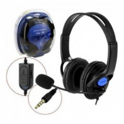 Audifono Diadema Para Gam Con Microfono Y Control De Volumen (Entrega Inmediata)