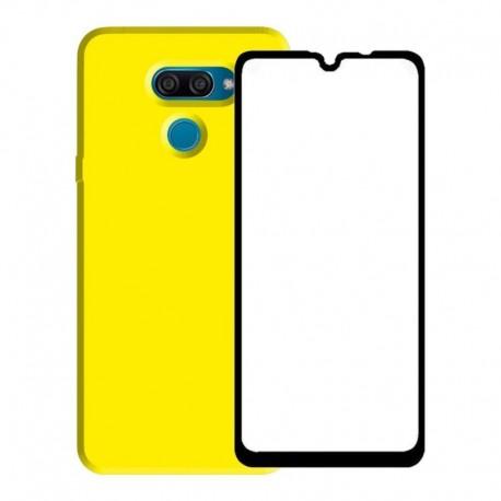 Estuche Funda Silicone Case + Vidrio Templado 5d - LG K50s (Entrega Inmediata)