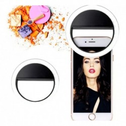 Aro De Luz Led Para Selfies Celular Selfie De Pilas (Entrega Inmediata)