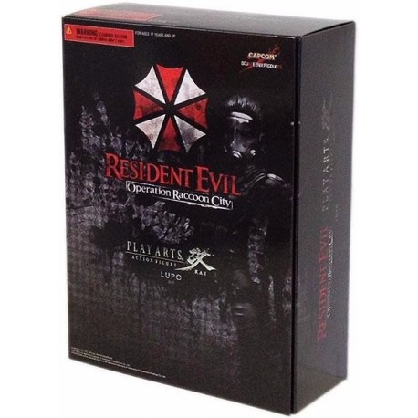 Resident Evil Operation Raccon City Lupo Figura Play Arts (Entrega Inmediata)