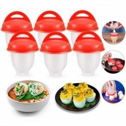 Silicona Para Huevo Egg Boil Cocina Huevos Sin Cascara (Entrega Inmediata)