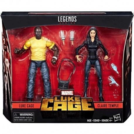 Marvel Legends Luke Cage & Claire Temple Set Figuras Hasbro (Entrega Inmediata)