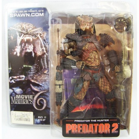 Movie Maniacs Serie 6 Predator 2 The Hunter Figura Mcfarlane (Entrega Inmediata)