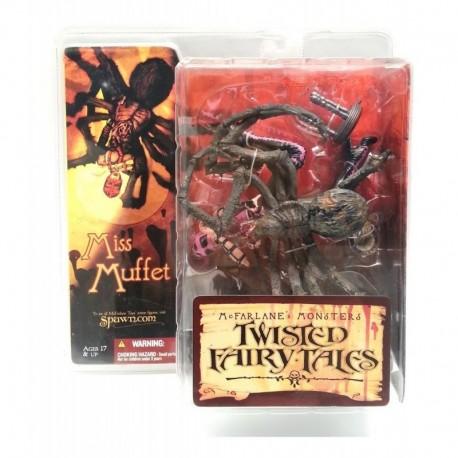 Twisted Fairy Tales Monsters Miss Muffet Figura Mcfarlane (Entrega Inmediata)