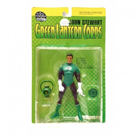 Green Lantern Corps John Stewart Figura Dc Direct (Entrega Inmediata)