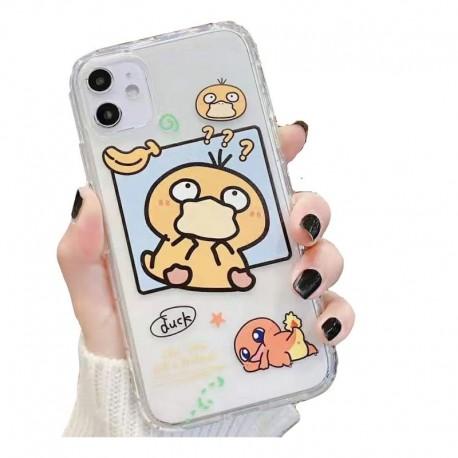 Estuche Personalizado Pokemon Psyduck iPhone Samsung Huawei (Entrega Inmediata)