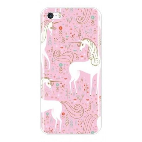 Estuche Personalizado Unicornio Rosa Sony Nokia LG (Entrega Inmediata)