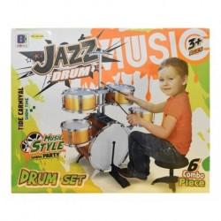 Set Bateria Gra Musical 5 Tambores Música Niños Jazz 661-883 (Entrega Inmediata)