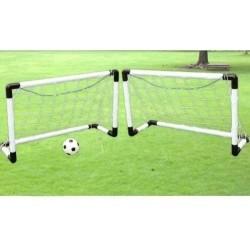 2 Canchas Fútbol Banquitas Micro Anch 80 Alt 60 Fondo 40cm (Entrega Inmediata)