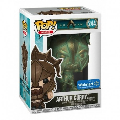 Aquaman Exclusivo Arthur Curry Figura Funko Pop (Entrega Inmediata)