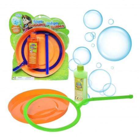 Set Para Hacer Burbujas Gigantes Liquido Plato Accesorio (Entrega Inmediata)