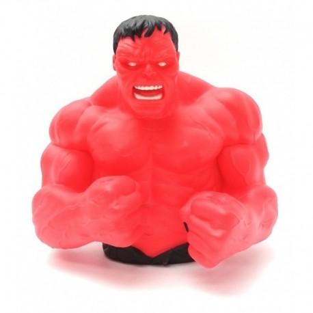 Marvel Avengers Bust Bank Alcancía Busto Red Hulk Monogram (Entrega Inmediata)