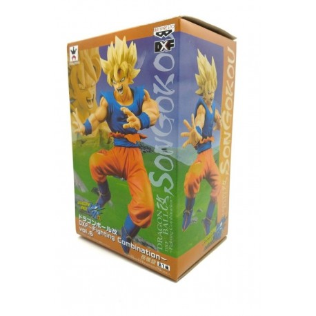 Dragon Ball Kai Goku Super Saiyan Figura Banpresto (Entrega Inmediata)