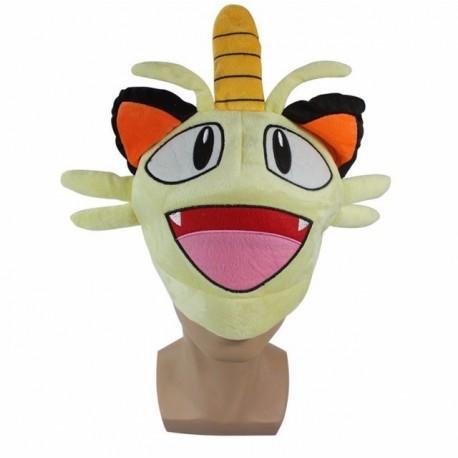 Pokémon Meowth Gorro Cosplay (Entrega Inmediata)