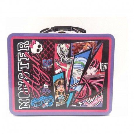 Monster High Ghoul Friends Lonchera Retro Tin Box Co (Entrega Inmediata)