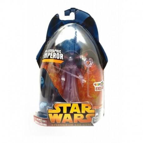 Star Wars Revenge Of Sith Holographic Emperor Figura Hasbro (Entrega Inmediata)
