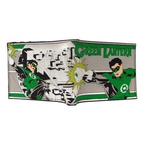Dc Comics Linterna Verde Billetera En Goma (Entrega Inmediata)