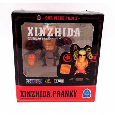 One Piece Franky Figura Xinzhida (Entrega Inmediata)